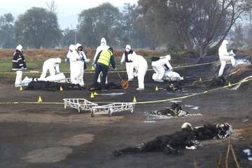 Asciende a 66 la cifra de fallecidos tras explosión de toma clandestina de gasolina en México