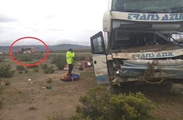 Oruro: Revelan la nómina de fallecidos y heridos del choque frontal entre dos autobuses