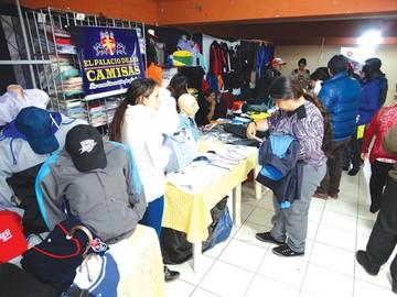 Feria del Doble Aguinaldo movió más de Bs 100 mil