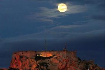 La Superluna podrá verse en Bolivia minutos después de la medianoche