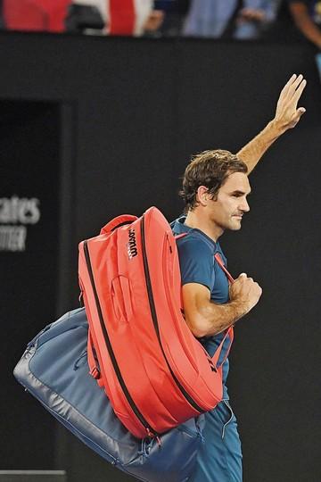 El gran Roger Federer fue despachado de Australia