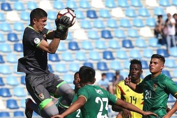 Bolivia cae ante Colombia en su segunda presentación del Sudamericano Sub 20