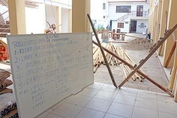 Refacción de 18 colegios  se agiliza tras demora