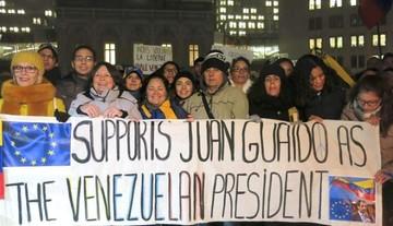 """Guaidó recibe el reconocimiento de varios países como """"presidente encargado"""" de Venezuela"""