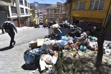 Acuerdo sobre basura alivia asfixia en La Paz