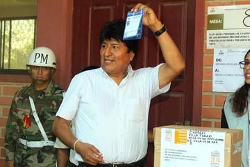 "Morales: ""Venimos a cumplir con un mandato constitucional"""