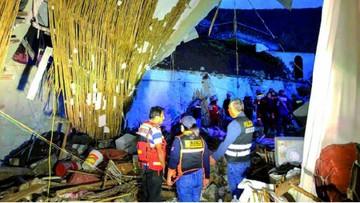 Cae pared en Perú y deja unos 15 muertos en boda