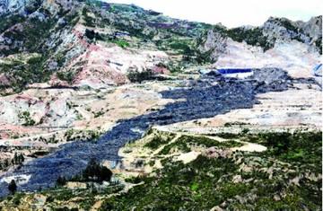Gobierno: No hay plan de contingencia en Alpacoma