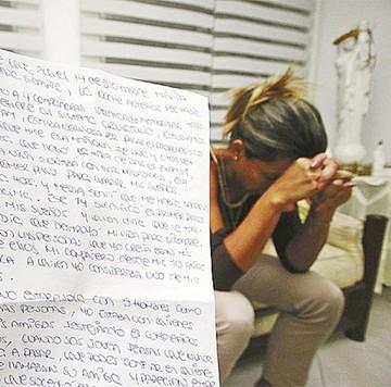 """Caso violación: """"Sus hijos están presos, yo peor"""""""
