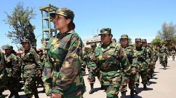Mujeres se licenciarán porprimera vez de servicio militar
