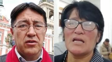 Diputada Calcina denuncia a su colega Barrientos por extorsión
