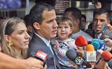 El Parlamento Europeo reconoce a Juan Guaidó