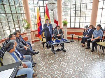 Sucre afina detalles para albergar las sesiones de la CIDH