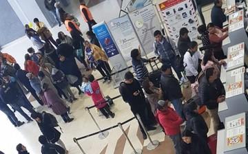 Cancelan vuelos en aeropuerto Alcantarí