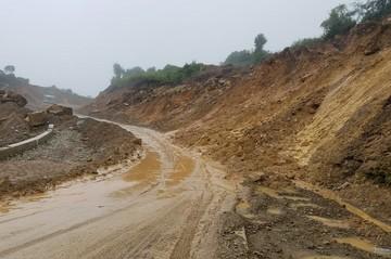 Restringen circulación vehicular entre Padilla y Monteagudo