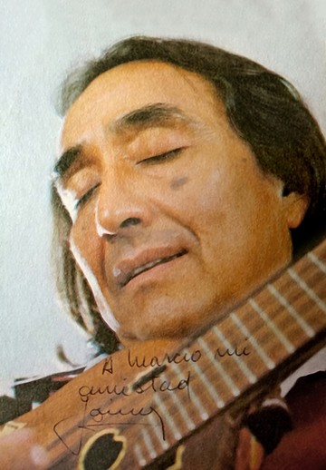 Jaime Torres, el famoso discípulo argentino de Mauro Núñez
