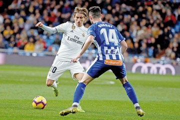 Paso atrás del Atlético  y adelante del Real Madrid