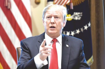 Trump marcará sus prioridades ante un  Congreso crispado