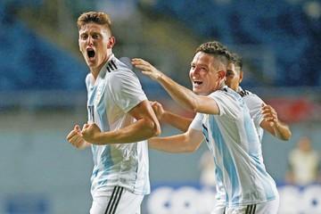 Sub 20: Argentina reacciona