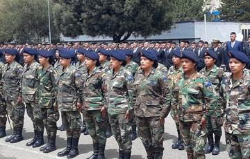 Se licencian las primeras mujeres que cumplieron servicio militar en el país