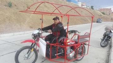 Soldador adapta motos para los discapacitados