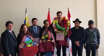 Miembros de la CIDH llegan a Sucre y adelantan que escucharán a sectores civiles