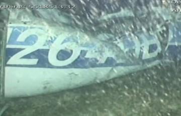 Rescatan el cuerpo hallado en el avión de Sala