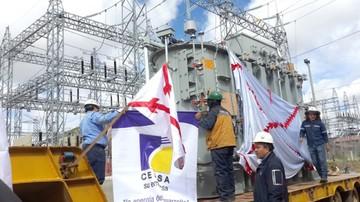 Transformador permitirá ampliar servicio eléctrico