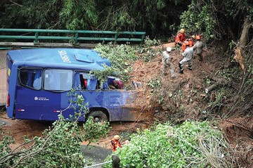Temporal deja en Río  muerte e inundaciones