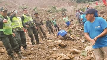 Hallan un nuevo cadáver y suman 16 las víctimas del deslizamiento en Caranavi