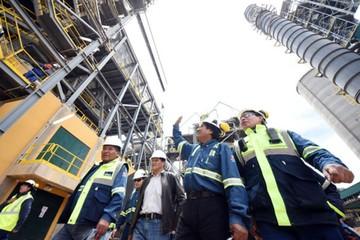 Gobierno planea inaugurar planta de Oruro en marzo