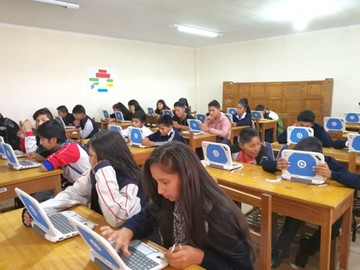 """El colegio Serrano implementa la """"evaluación digital"""""""