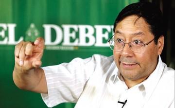 Arce pide a privados que prevean el pago del doble aguinaldo