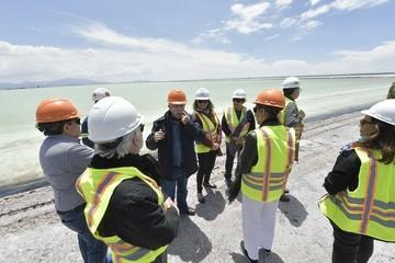 Comisionados de la CIDH visitan el salar de Uyuni