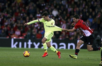 Barcelona no pasa del empate ante el Athletic