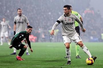 Juventus golea a Sassuolo a ritmo de Cristiano
