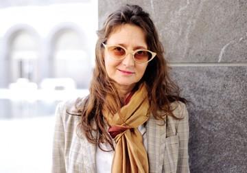 Lucrecia Martel junto a Björk
