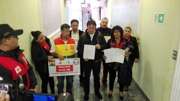 Repostulación: Plataformas del 21F buscarán que Brasil y Colombia pidan pronunciamiento de la Corte-IDH