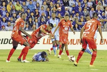 Guabirá cae pero marca un valioso gol