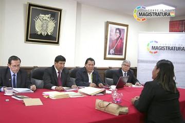 Magistrados eligen hoy a vocales constitucionales