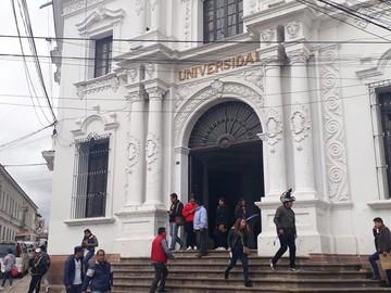 Universidad regulariza sus actividades con alta afluencia de estudiantes