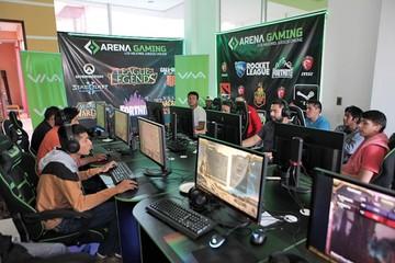 Inauguración  de Arena Gaming
