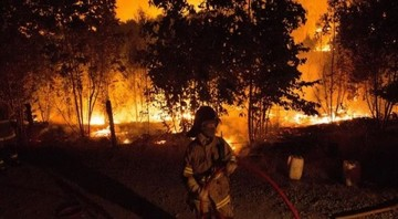 Chile: Un total de 40 incendios se mantienen activos
