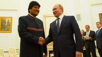 Evo recibe invitación de Putin para visita oficial a Rusia