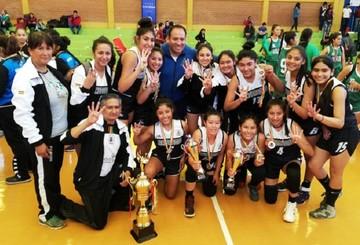 Cochabamba, campeón invicto de básquet U 18
