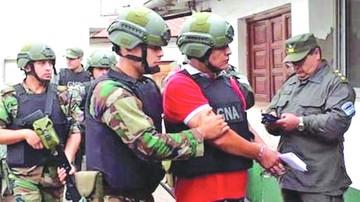 Narco argentino trabajaba como abogado en el país