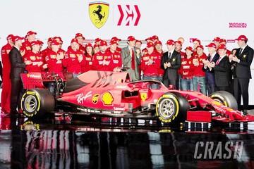 Ferrari presenta su monoplaza