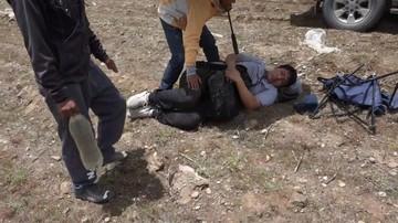 Un camarógrafo chuquisaqueño sufrió accidente