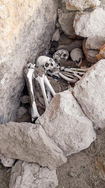 Chullpares y cementerios de Jachuma
