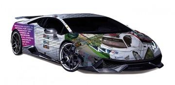 Lamborghini aduanizado ya circula, pero en rutas de las redes sociales